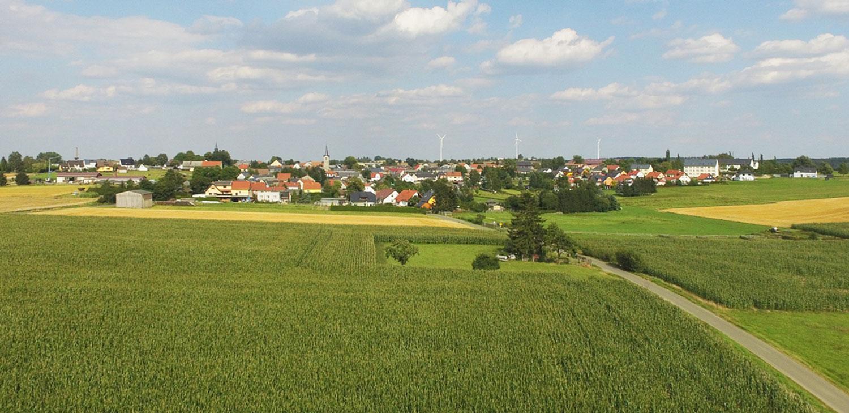 Die Gemeinde Oettersdorf.